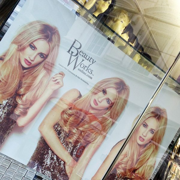 beauty-works-window-poster-design