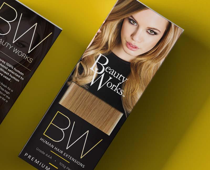 massxo beauty work hair extensions branding