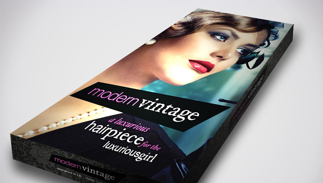 modern-vintage-hair-piece-packaging-box-design-slanted