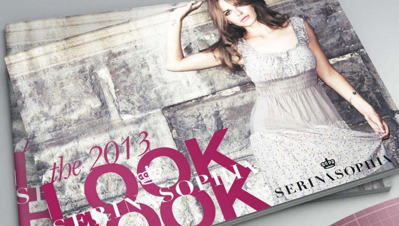 serina-sophia-look-booklet-cover-design
