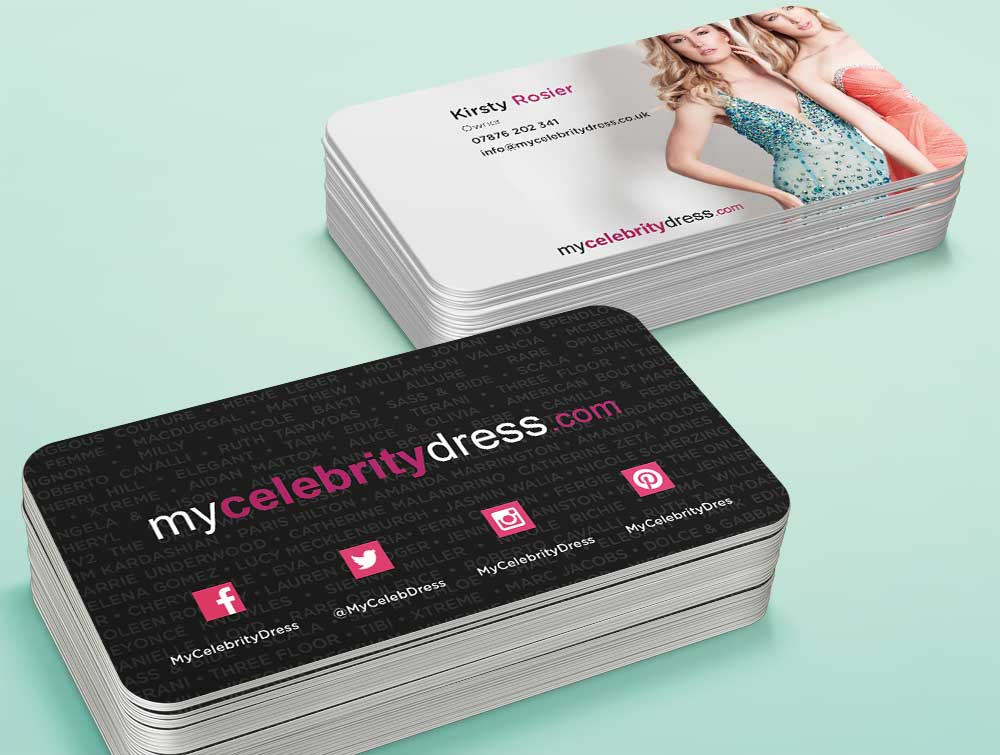 Business Card Design for Hair, Fashion or Beauty Company - Massxo